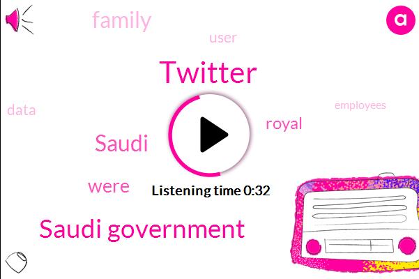Twitter,Saudi Government