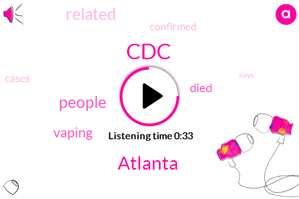 Listen: U.S. vaping-related deaths rise to 42, cases of illness to 2,172