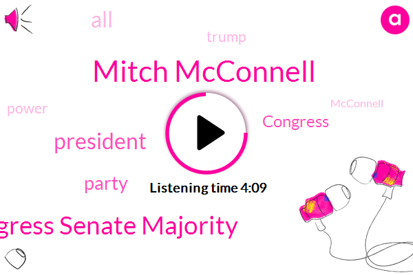 Mitch Mcconnell,Congress Senate Majority