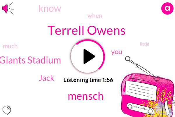 Terrell Owens,Mensch,Giants Stadium,Jack