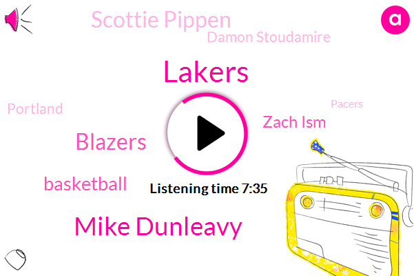 Lakers,Mike Dunleavy,Blazers,Basketball,Zach Ism,Scottie Pippen,Damon Stoudamire,Portland,Pacers,Bulls,Malou,Brothers,NBA,Russell Westbrook,Lindsey,Beck,Facebook,Reporter,Steve Springer