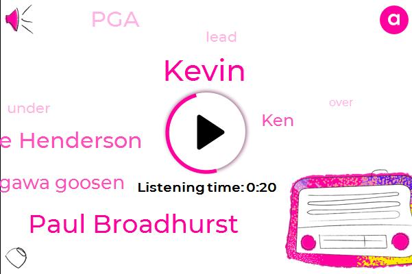 Listen: Broadhurst has 3-shot lead at Senior PGA Championship