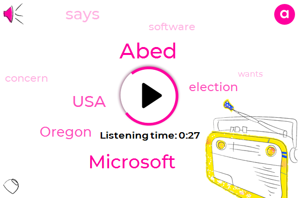 Listen: Microsoft unveils new software tools it claims will make voting secure