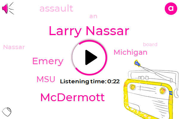 Listen: Michigan State authorizes independent Larry Nassar investigation