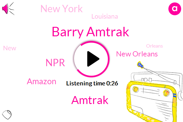 Listen: Amtrak service in New Orleans restored after Barry weakens