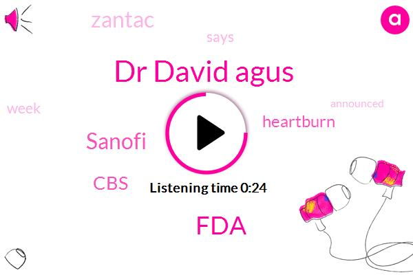 Listen: FDA finds cancer-causing chemical in heartburn medicine Zantac
