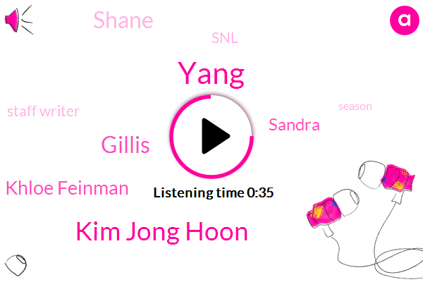 Yang,Kim Jong Hoon,Gillis,Khloe Feinman,SNL,Staff Writer,Sandra,Shane