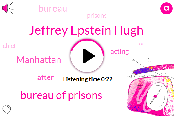Listen: After Epstein suicide, attorney general reassigns federal prisons chief