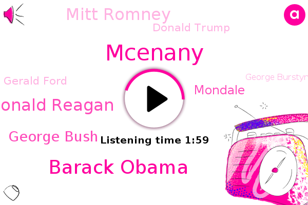 President Trump,Barack Obama,Ronald Reagan,George Bush,Mcenany,Mondale,Mitt Romney,Donald Trump,SNL,Gerald Ford,George Burstyn,Kayleigh,Kaylie,United States,John Kerry,Brian,Georgia