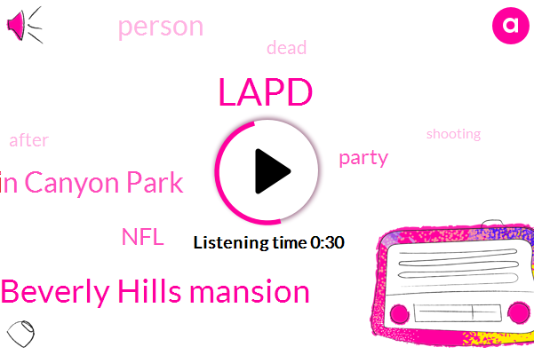 Beverly Hills Mansion,Franklin Canyon Park,Lapd,NFL