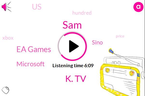 K. Tv,Ea Games,United States,Microsoft,SAM,Sino