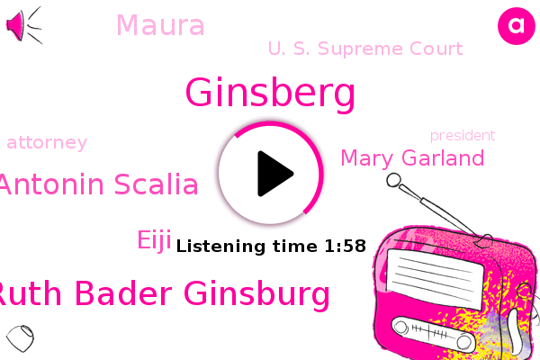 Ruth Bader Ginsburg,U. S. Supreme Court,Pancreatic Cancer,Ginsberg,Attorney,Antonin Scalia,John,Eiji,President Trump,Mary Garland,Michigan,Maura