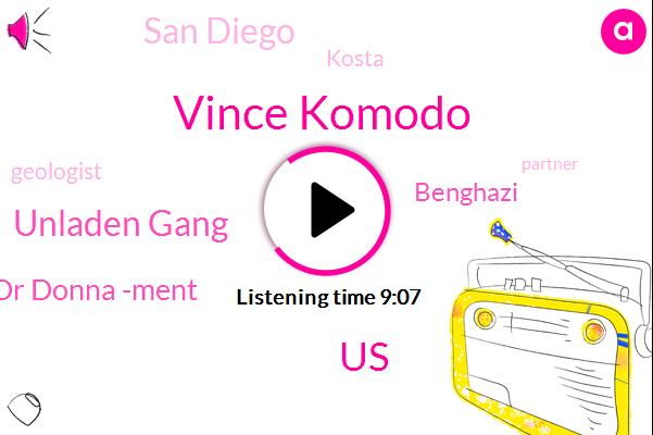 Vince Komodo,United States,Unladen Gang,Dr Donna -Ment,Benghazi,San Diego,Kosta,Geologist,Partner,French,Becca