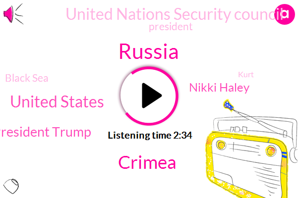 Russia,United States,Crimea,President Trump,Nikki Haley,United Nations Security Council,Black Sea,Kurt,Ukrainian Navy,Vladimir Putin,Kerch Strait,Mary Barra,General Motors,Moscow,Nited,Ohio,Harassment