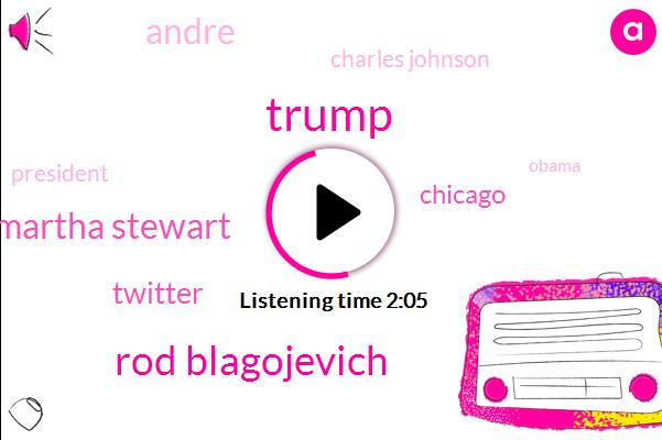 Donald Trump,Rod Blagojevich,Martha Stewart,Twitter,Chicago,Andre,Charles Johnson,President Trump,Barack Obama,Dario Davis,Garfield Park,Lane Tech High School,Assault,Fourteen Year,Sixty Year