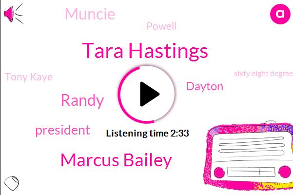 Tara Hastings,Marcus Bailey,Randy,President Trump,Dayton,Muncie,Powell,Tony Kaye,Sixty Eight Degrees,Ninety Three W
