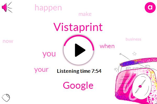 Vistaprint,Google