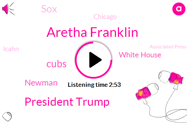 Aretha Franklin,President Trump,WGN,Cubs,Newman,White House,SOX,Chicago,Icahn,Associated Press,Omarosa Manacle,Cleveland Browns,Wildcats,Wrigley Field,Ryan Madson,Broncos,Robbery,United States,Blackhawks,NBC