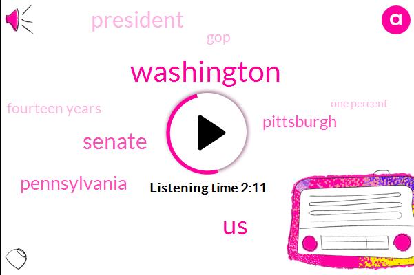 Washington,United States,Senate,Pennsylvania,Pittsburgh,President Trump,GOP,Fourteen Years,One Percent,Seven Years,Four Weeks,Sixyear