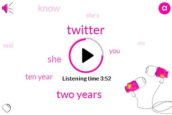 Twitter,Two Years,Ten Year