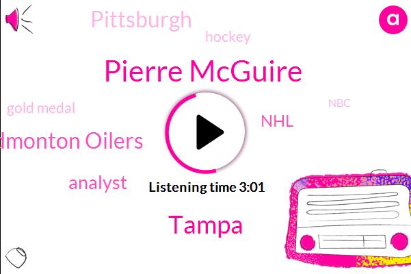 Pierre Mcguire,Tampa,Edmonton Oilers,Analyst,NHL,Pittsburgh,Gold Medal,Hockey,NBC,Devils,Tampa Bay,Hartford