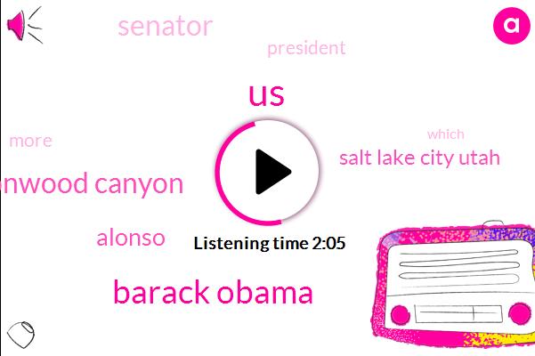 United States,Barack Obama,Little Cottonwood Canyon,Alonso,Salt Lake City Utah,Senator,President Trump