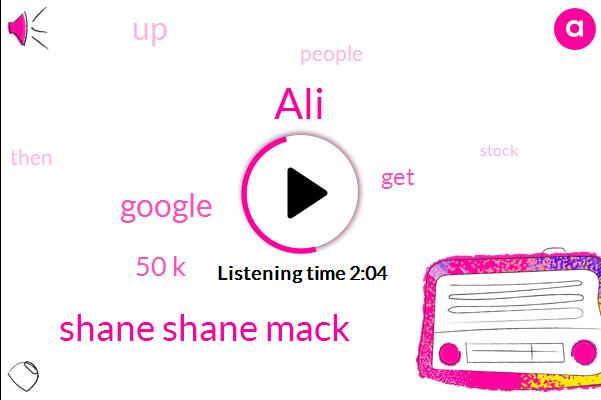 ALI,Shane Shane Mack,Google,50 K
