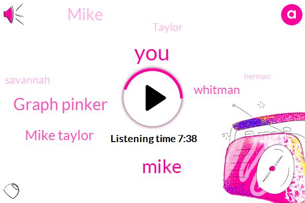 Mike,Graph Pinker,Mike Taylor,Whitman,Taylor,Savannah,Herman,Georgia,Jedi Ernie,JED