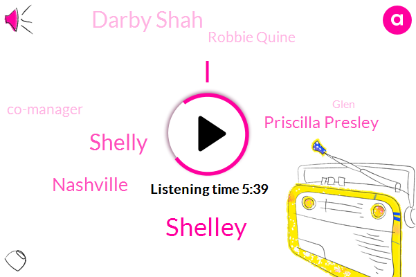 Shelley,Shelly,Nashville,Priscilla Presley,Darby Shah,Robbie Quine,Co-Manager,Glen,Gabby,Damian,Partner,Mickey,Bates Damien,Vicky Hamilton,Hannah,Eighteen Years