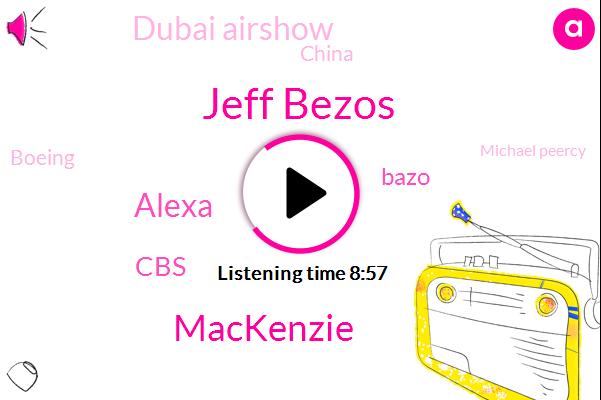 Jeff Bezos,Mackenzie,Alexa,CBS,Bazo,Dubai Airshow,China,Boeing,Michael Peercy,United States,Amnesty International,Rape,Twitter,Zirk Seas,CNN,Victoria,George Stephanopoulos,Alexandria,Wilmington