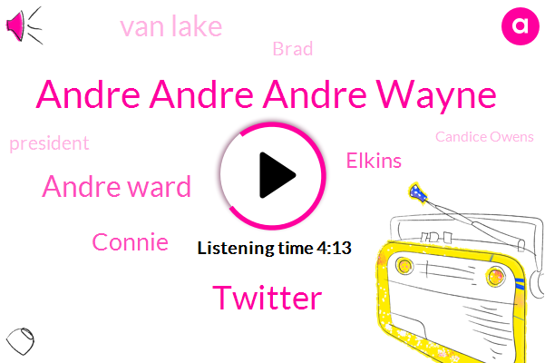 Andre Andre Andre Wayne,Twitter,Andre Ward,Connie,Elkins,Van Lake,Brad,President Trump,Candice Owens,Emmy,Florida,Jack,Layton,John,Zealand,Twenty Years