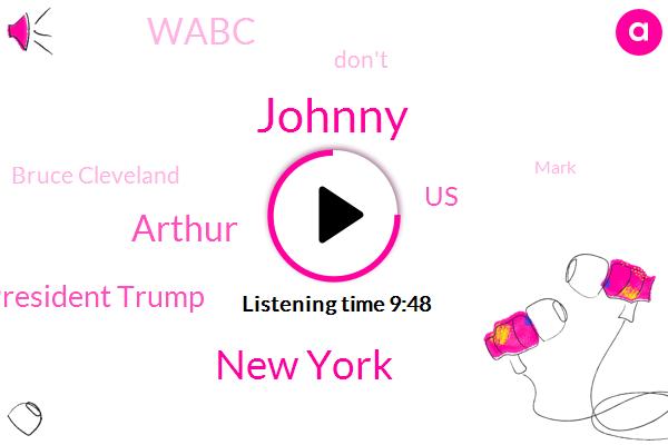 Johnny,New York,Arthur,President Trump,United States,Wabc,Bruce Cleveland,Mark,Guy Biden,Hillary Clinton,Drug Overdose,Joey,FOX