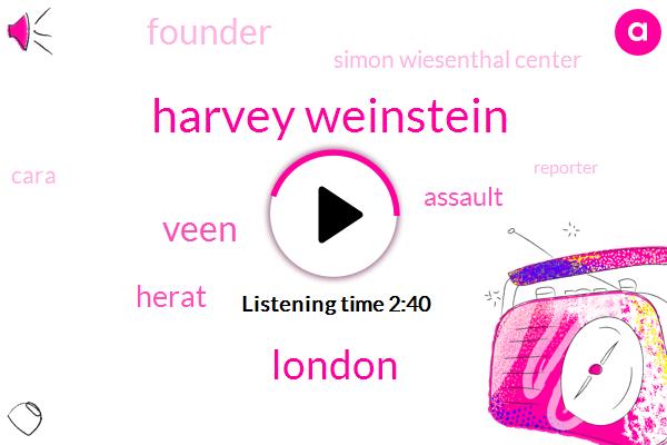 Harvey Weinstein,London,Veen,Herat,Assault,Founder,Simon Wiesenthal Center,Cara,Reporter,University Of Buffalo,Hollywood,Paul