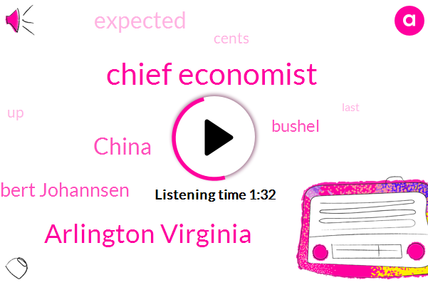 Chief Economist,Arlington Virginia,China,Robert Johannsen