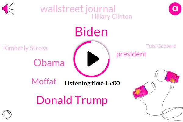 Biden,Donald Trump,Barack Obama,Moffat,President Trump,Wallstreet Journal,Hillary Clinton,Kimberly Stross,Tulsi Gabbard,Kimberly Strauss,America,Jimmy Carter,Malahide,Ed Rendell,Denver,Goff