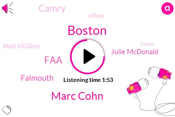 Marc Cohn,Boston,FAA,Falmouth,Julie Mcdonald,Camry,Officer,Matt Mcgloin,Toyota,Cherokee,Clemens,Thirty Four Years,Ten Year
