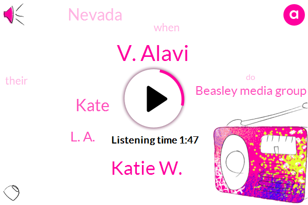 V. Alavi,Katie W.,Kate,L. A.,Beasley Media Group,Nevada
