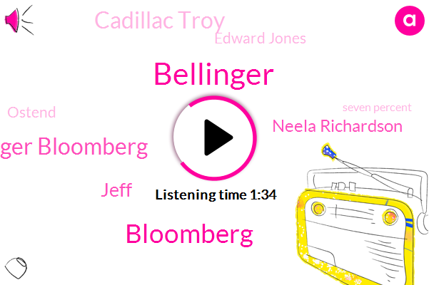 Bellinger Bloomberg,Bellinger,Bloomberg,Jeff,Neela Richardson,Cadillac Troy,Edward Jones,Ostend,Seven Percent,Four Percent,Two Quarter