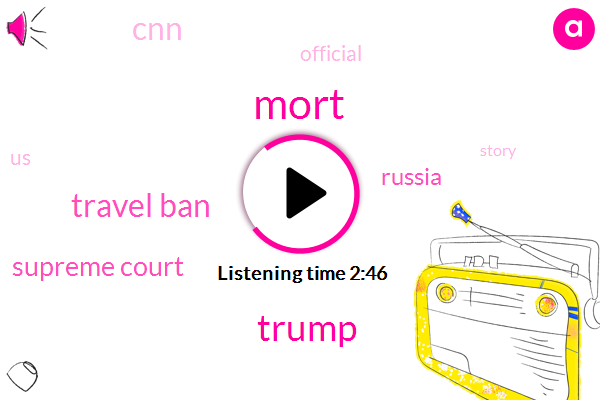 Mort,Donald Trump,Travel Ban,Supreme Court,Russia,CNN,Official,United States