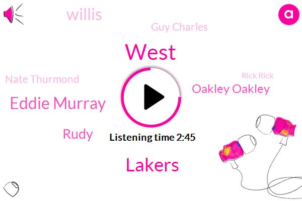 Lakers,Eddie Murray,Rudy,West,Oakley Oakley,Willis,Guy Charles,Nate Thurmond,Rick Rick,Youtube,NBA,Wes Unseld,Mahorn,Mcdaniel,Iran