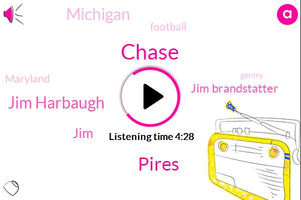 Chase,Pires,Jim Harbaugh,Jim Brandstatter,Football,Michigan,Maryland,JIM,Gentry,Alexa,Toyota,NFL,Shea Patterson,Karan,Eubanks,Three-Quarters,Four Digit