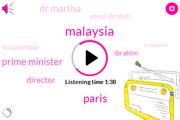 Malaysia,Paris,Prime Minister,Director,Ibrahim,Dr Martha,Anwar Ibrahim,Kuala Lumpur,Dr Mahathir,Ninety Two Year,Twenty Years