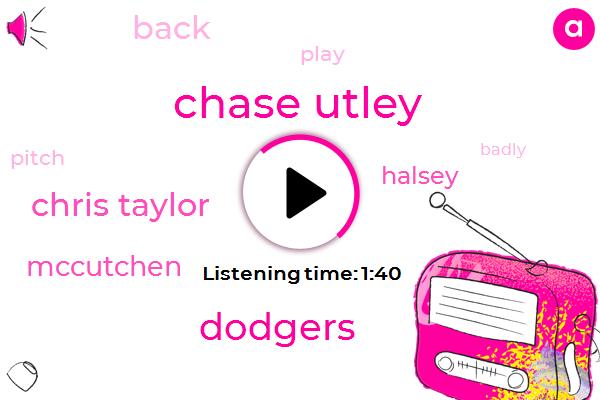 Chase Utley,Dodgers,Chris Taylor,Mccutchen,Halsey