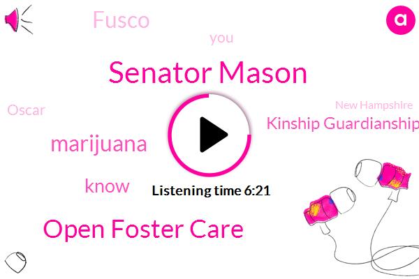 Virginia,Senator Mason,Open Foster Care,Marijuana,Kinship Guardianship Assistance,Fusco,Oscar,New Hampshire,Mcdonnell,Foscari,BEC,Forensic Science Board,Scientist,Secretary,Komo,Janet Kelly