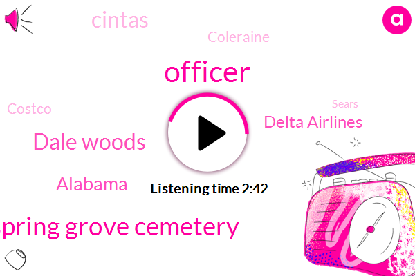 Officer,Spring Grove Cemetery,Dale Woods,Alabama,Delta Airlines,Cintas,Coleraine,Costco,Sears,Sherry Preston,ABC,Cbgb,Sean Gallagher,Dana,Macy,Barnes,Clinton,Xavier Doors,Jerome Powell