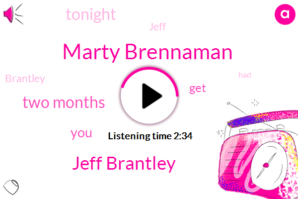Marty Brennaman,Jeff Brantley,Two Months