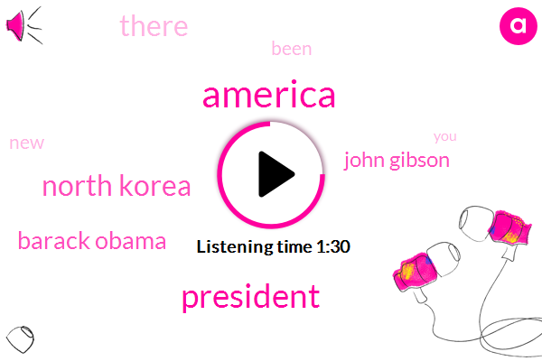 America,President Trump,North Korea,Barack Obama,John Gibson
