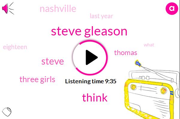 Steve Gleason,Steve,Three Girls,Thomas,Nashville,Last Year,Eighteen,Three Women,Instagram,Ninety Five Years Old,Eighteen Year Old,Three,A Ton Of Money,Twenty Four Year Old,Twenties,Next Day,ONE,Twenty Three Year Old,Ninety Five,Few Nights Ago