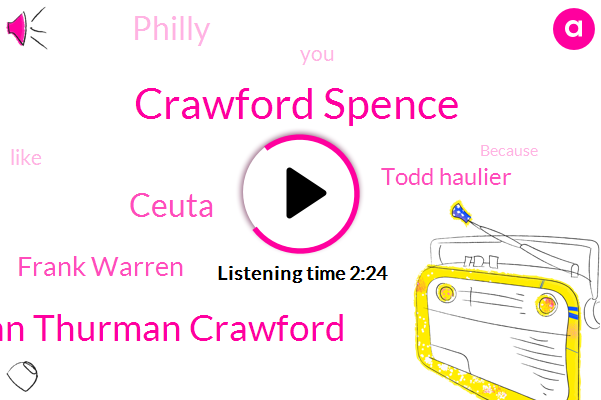 Crawford Spence,Sturman Thurman Crawford,Ceuta,Frank Warren,Todd Haulier,Philly