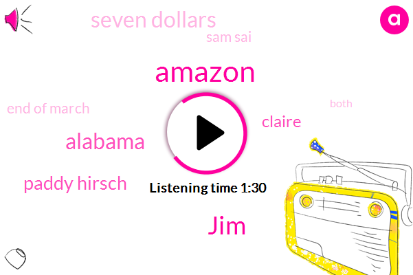 Amazon,JIM,Paddy Hirsch,Alabama,Claire,Seven Dollars,Sam Sai,End Of March,Both,Seventeen Dollars An Hour,Twenty Five Cents An Hour,NPR,Mercedes Benz Plant,ONE,More Than Double,Fifteen Dollars An Hour,Miller,Ripple,Point Four